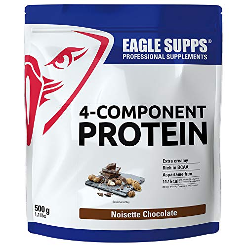 EAGLE SUPPS 4-Component Protein Noisette Chocolate 500g