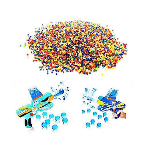 Kunterbunte, weiche Kugeln, Perlen, Paintball-Kugeln, Dekoration
