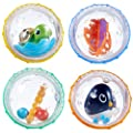 Munchkin Float and Play Bubbles Bath Toy, 4 Count by Munchkin