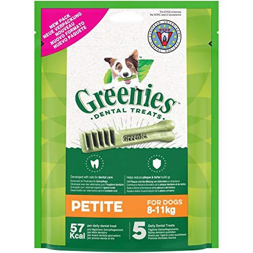 GREENIES Original Petite – Friandises à mâcher pour petit chien – 30 sticks pour une bonne hygiène bucco-dentaire – 6 sachets de 85g