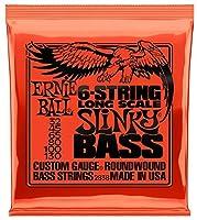 ERNIE BALL (アーニー・ボール) 6弦ベース用 2838 Slinky 6-String Bass 32-130