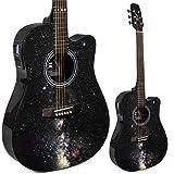 Lindo Galaxy Slim Elektro-Akustik-Gitarre mit integriertem Tuner