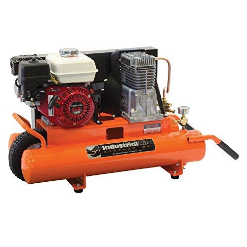 Industrial Air Contractor CT5590816 8-Gallon Grade Belt Driven Wheelbarrow Air Compressor with Honda Engine