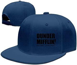 Dunder Mifflin Paper Lnc Unisex Woman Stylish Trucker Hat Plain Adjustable Sports Baseballcap