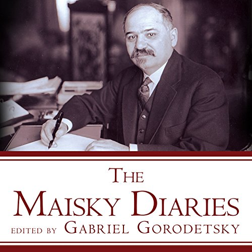 The Maisky Diaries audiobook cover art