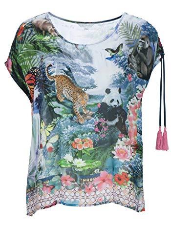 FROGBOX Shirt blouse Größe 38 EU 2245 fantasy world