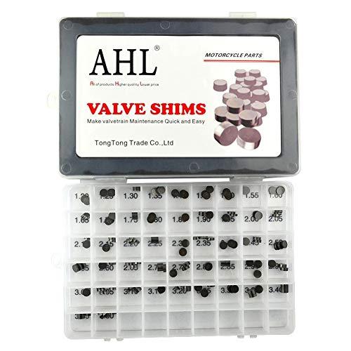 AHL Durchmesser: 7.48mm 3 x 47pcs 1.20mm-3.50mm Ventileinstellplättchen Ventil Shim Ventile einstellen für Kawasaki ZZR 600 2003-2008