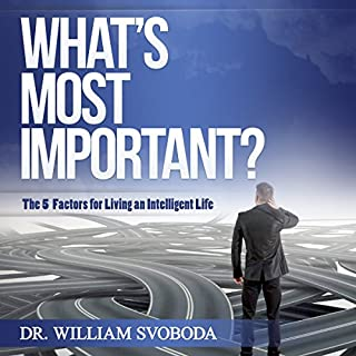 What's Most Important? audiobook cover art
