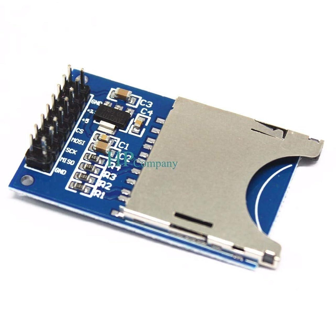 流出髄操作可能WillBest 1PCS Reading and Writing Module SD Card Module Slot Socket Reader ARM MCU for arduino SPI interface Single Chip microcomputer