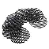 Fait de plastique de haute qualité, solide et durable Largement utilisé dans les pots au fond ou dans les pots avec des trous dans le fond Coussin imperméable en plastique pour prévenir les fuites de sol et la ventilation Rendre les racines des plant...