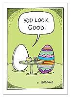 """NobleWorks """" Good Egg """"面白いイースターグリーティングカード、5"""" x 7"""" ( c1491eag )"""