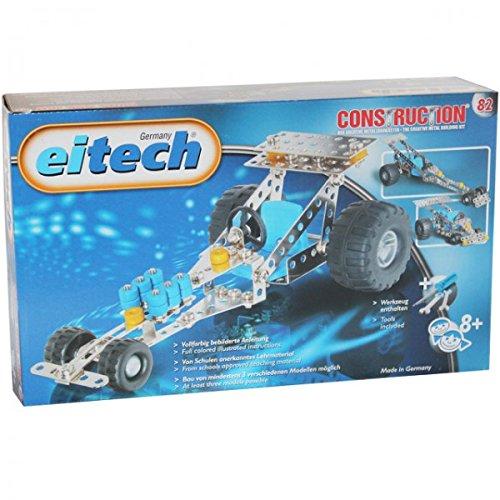 Eitech 82 Rennwagen Auto Baukasten Construction Metall Starter Lernspielzeug Lernen Bauen