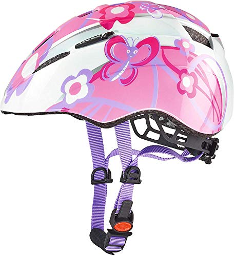 Uvex Kinder Kid 2 Fahrradhelm, Butterfly, 46-52 cm