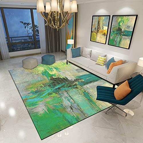 ZAZN Alfombra Impresa Viento Abstracto Mesa De Centro para Invitados Alfombra Sofá Dormitorio Alfombra De Área Grande Alfombrillas