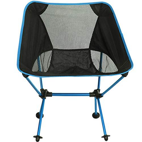 Zhouzl Productos de Camping Silla Plegable portátil al Aire Libre Silla de...