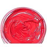 FairOnly Restaurador de tinte de color crema para reparación de gastado, restaurador de colorantes, suministros para asiento de coche, sofá de piel, color rojo.