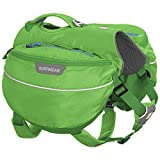 RUFFWEAR Hiking Pack for Dogs, Small Breeds, Adjustable Fit, Size: Small, Meadow Green, Approach Pack, 50102-345S