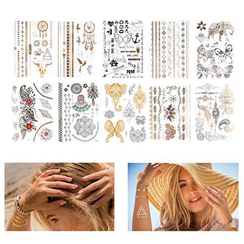 tijdelijke tattoo stickers en gezichtskristal sticker Tattoo Stickers