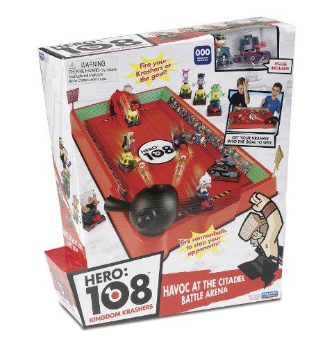 Giochi Preziosi 70230201 Hero 108 – Camp de Combat avec Figurine