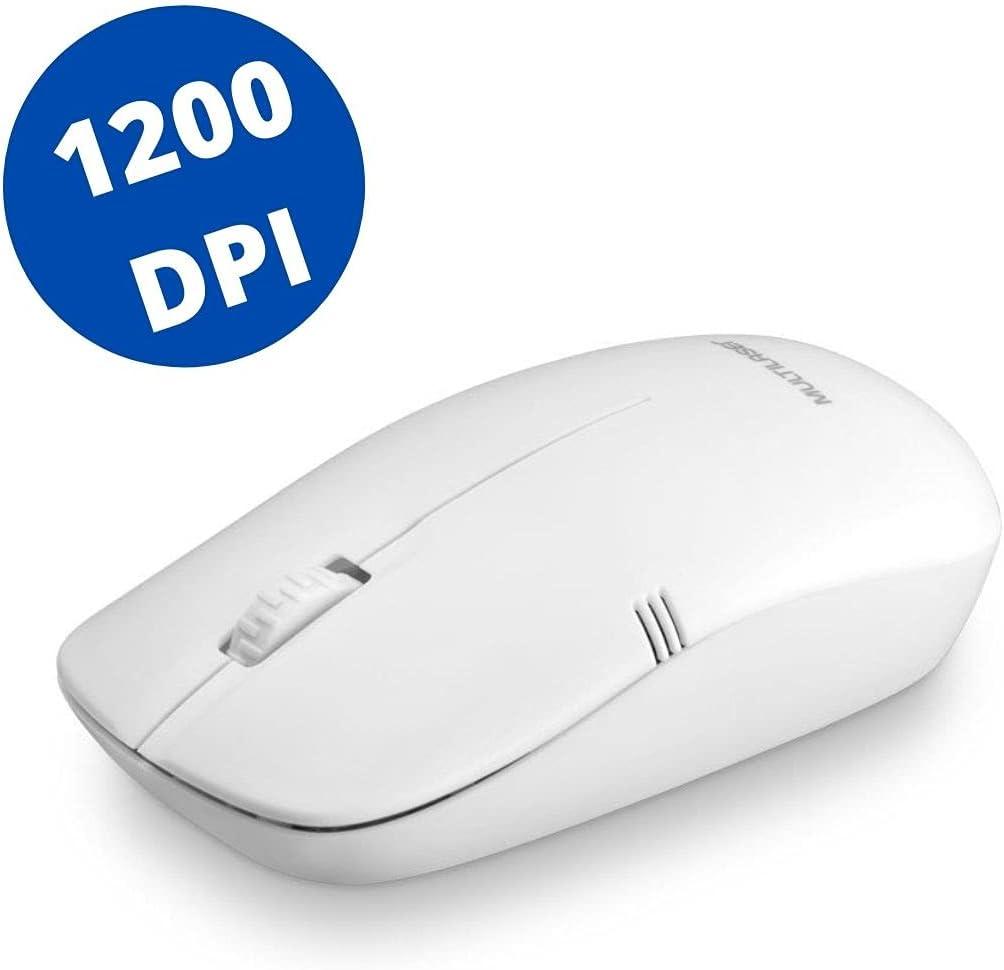 Mouse Sem Fio 2.4GHZ USB Branco – MO286