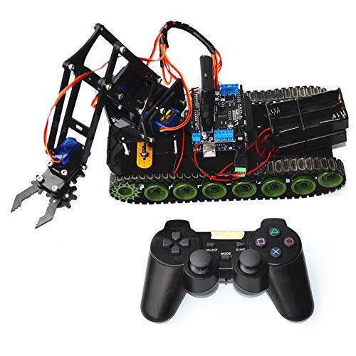 OUYAWEI Manipulador de Robot programado a Distancia de Alta tecnología PS2 Mearm Adult Puzzle Toy Robo Electric Okul Cantasi Rasperry Pi Robots Juguetes