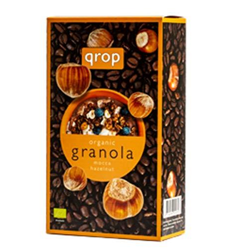クロップ 有機グラノラ コーヒー&ヘーゼルナッツ 400g【QROP】【オーガニック】【グラノラ】【有機シリアル】【コーヒー&ヘーゼルナッツ】 ×2袋