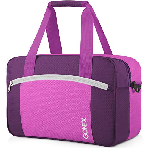 Gonex 15L Sporttasche, Trocken Nass Getrennter Sportbeutel, wasserdichte Schwimmtasche mit Reißverschluss, Badetasche für Damen Herren Kinder