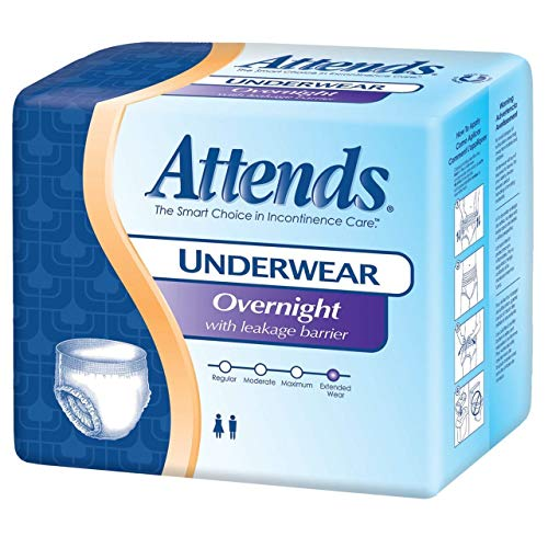 Attends Overnight Underwear Medium 64 cs
