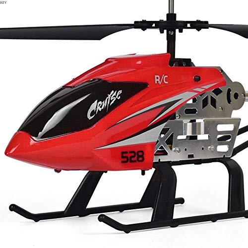WGFGXQ Avión de Control Remoto con Luces LED de Colores Carga de helicóptero Niño de Juguete para niños Resistente a la caída Control Remoto Modelo de avión súper Grande Regalos para Adultos N