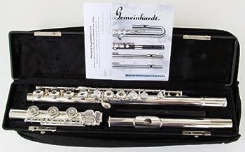 Gemeinhardt Model 3B Flute Open Hole Inline G B Foot Silver Plated