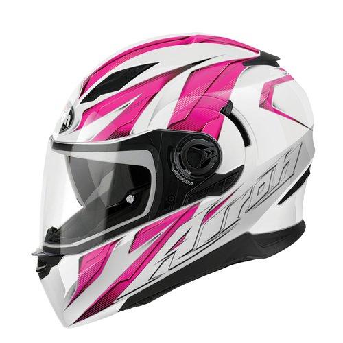 Airoh Motorrad Helm Bewegung, Rosa (Strong Pink), 54-XS