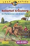 Reiterhof Kronsberg. Ein Pferderennen mit Hindernissen. Cassette