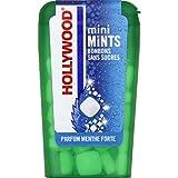 Hollywood - Bonbon Mini Mints Parfum Menthe Forte, Sans Sucres - 12G - Lot De 4 - Livraison Rapide En France - Prix Par Lot