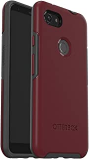 OtterBox Symmetry Series Case for Google Pixel 3a XL - Retail Packaging - FINE Port (Cordovan/Slate Grey)