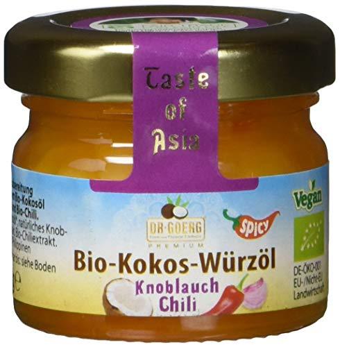 Dr. Goerg Premium Bio-Würzöl Knoblauch-Chili,  24 g