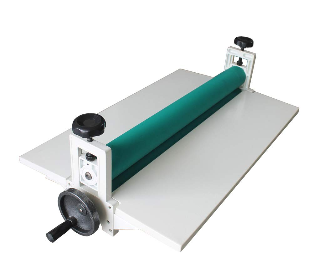 Amazon.com : INTBUYING Manual Cold Roll Laminator 25'' Laminating Machine  Lamination Foldable Long Wings : Cold Press Laminator : Office Products