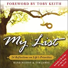 My List : 24 Reflections on Life's Priorities