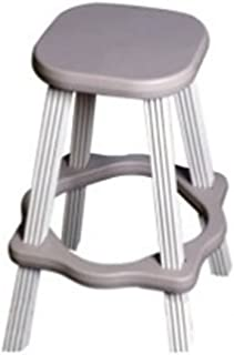 QCA Spas LABS26G Spa Side Stool, 26-Inch, Gray