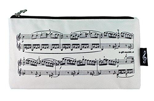 Stiftmäppchen Melodie - Geschenk für Musiker