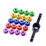 20Pcs M5 Motor Screw Props Nut Flange Nut Propeller Adapter Quick Release Wrench Tool CW CCW for RC FPV Racing Drone 2204 2205 2306 Motor