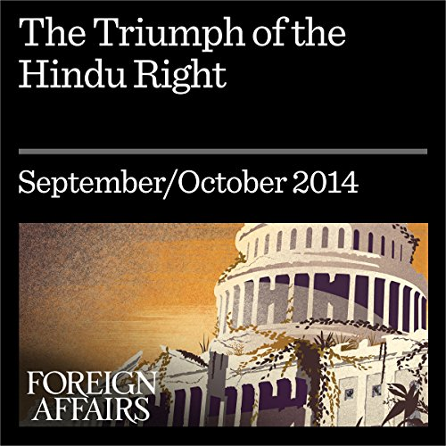 The Triumph of the Hindu Right audiobook cover art
