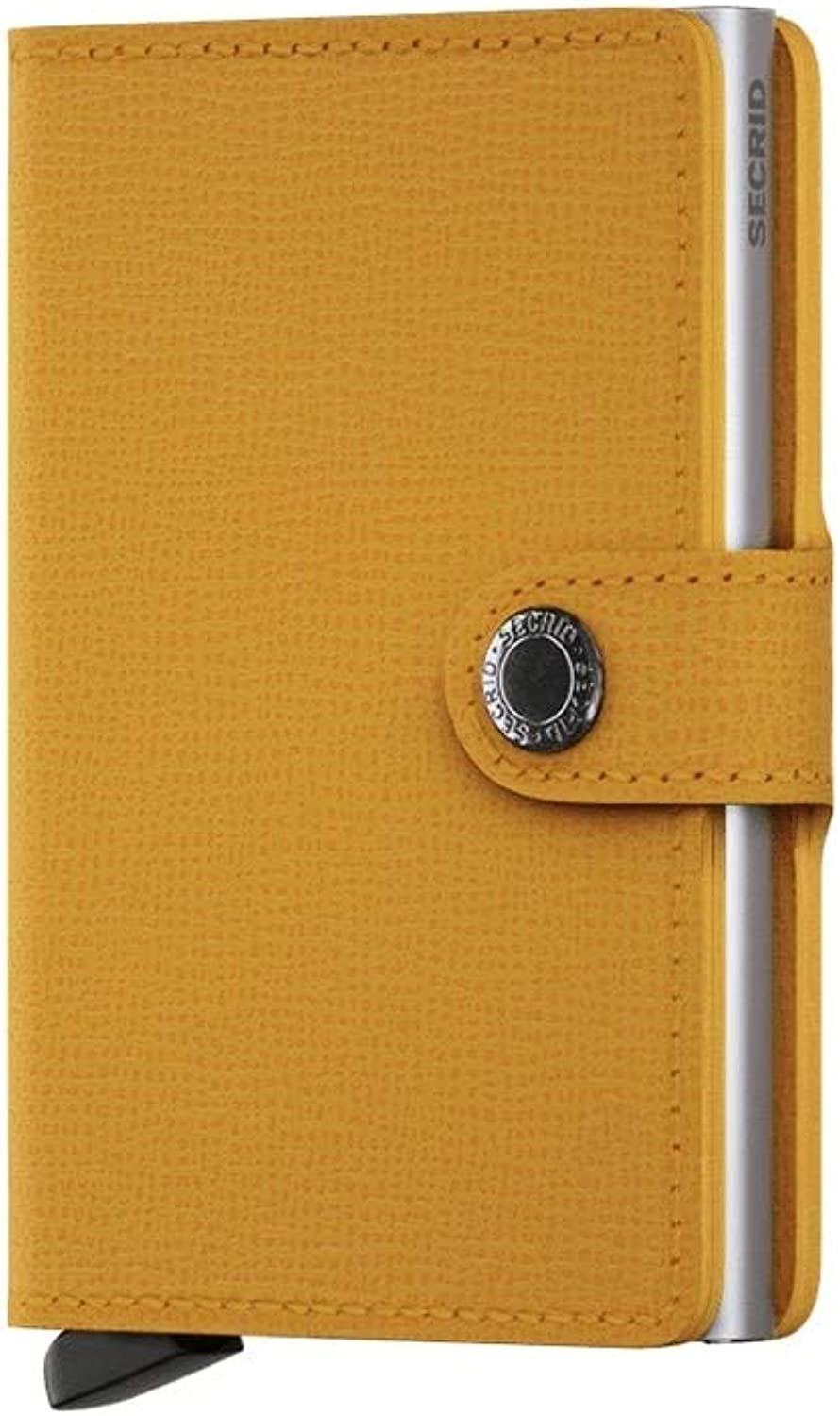 Secrid Mini Wallet Leather Amber Crisple SC5274