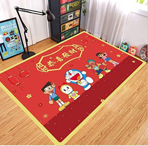 Tapijt Kinderen Kinderen Kinderkamer Yoga Persoonlijkheid Deur Cartoon Wc Bank Vloer Salontafel Kleed Woonkamer Slaapkamer Anti-slip Duurzaam 180 * 280cm
