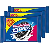 3-Pack OREO Double Stuf Chocolate Sandwich Cookies 20 oz.