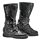 Sidi Adventure 2 Gore-Tex Waterproof Leather ADV Motorcycle Touring Boots 50 Black