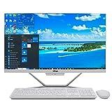Baieyu All-in-One PC, Pantalla táctil, Win 10 Pro, 23.8' 1920x1080 FHD,Intel Core i7-8565U, 32GB DDR4, 512GB MSATA SSD,1TB HDD,Mouse y Teclado inalámbricos en español,WiFi/BT4.0/HDMI/VGA/LAN