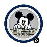Disney Mickey & Minnie Kids 14274, Plate Set, Plastic
