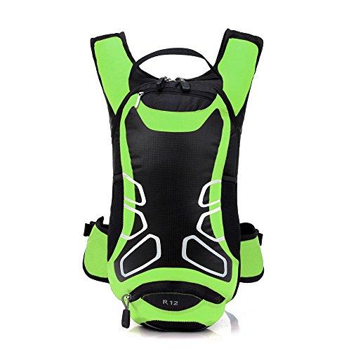 Lixada 12L Wasserabweisend Fahrrad Schulter Rucksack Wasser Reisetasche Ultralight f¨¹r Radsport Outdoor Reiten Bergsteigen Hydration
