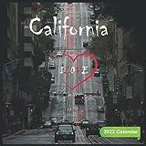 Ilove California Calendar 2022: Official California 2022 Calendar (12 Months) , Travel Calendar 2022, Square 2022 Calendar ,USA 2022 Calendar