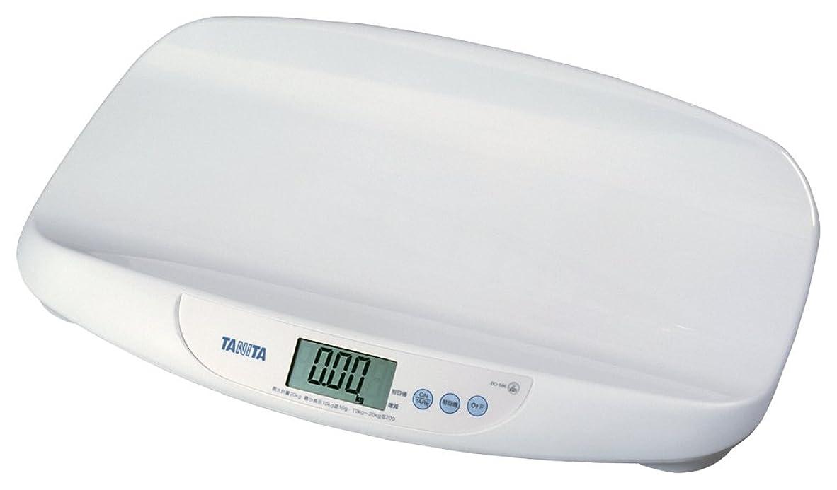 石炭コーヒーサークルタニタ 体重計 デジタルベビースケール ホワイト BD-586-WH